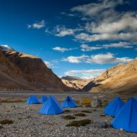 Campsite on the way to the Parang La Base Camp