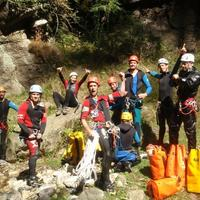 Fun times Canyoning in Vashist, Manali