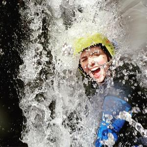 The excitement of Canyoning.