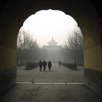 At the Threshold of the Temple of Heaven