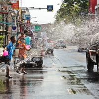 Water Battle Songkran