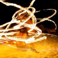 Firedancer at the drumsession