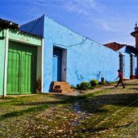 Coloured Houses in Trinidad