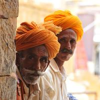 Locals in Jaisalmer Fort