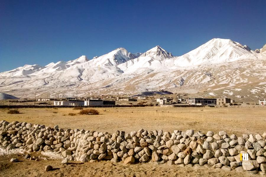 Merak village in Winter