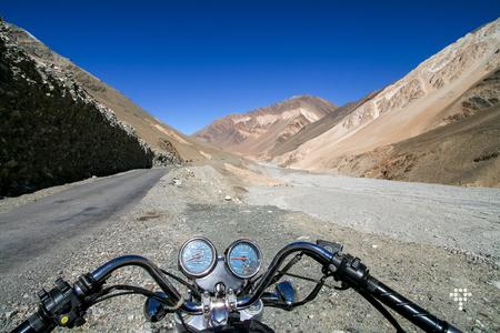 Motorcycling with a Thunderbird in Ladakh