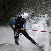 Canyoning guide in Manali