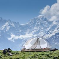 Camping on the Pandu Ropa ridge
