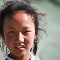 Sonam Karma. A Changpa girl from the Sumdo village.
