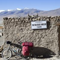 The Tibetan Argali Homestay at the Thukje village near Tsokar lake.