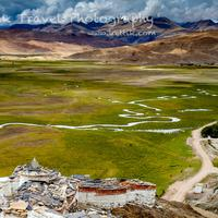 View from the Hanle monastery